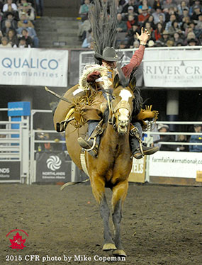 Cody DeMoss - 2015 Saddle Bronc Riding Champion