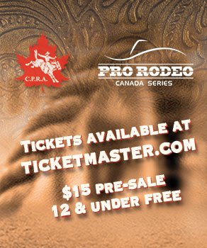 2016 Cinch Pro Rodeo Canada Series Final - Sept 30 - Oct 1, Stampede Park, Calgary - Tickets just $15. 12 & under are free