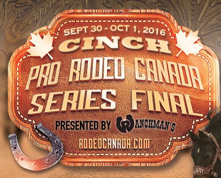 Cinch Pro Rodeo Canada Series Final