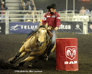 Lisa Lockhart - 2012 Cdn Barrel Racing Champion