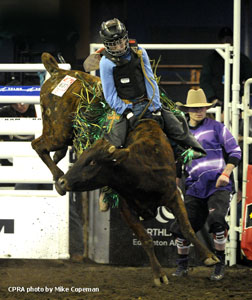 Kagen Schmidt - 2012 Steer Riding Champion