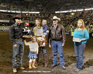2012 Cowboy of the Year - Scott Schiffner