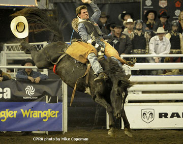 Jacob Stemo - 2012 Novice Bareback Champion