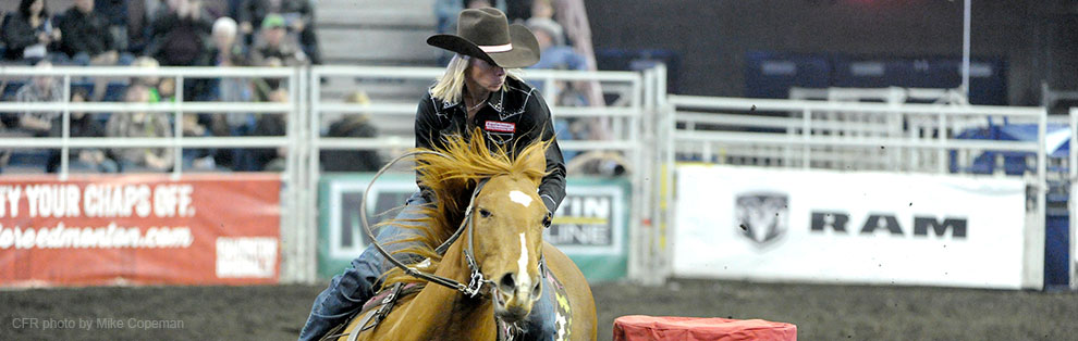 Nancy Csabay - 2015 Canadian Barrel Racing Champion